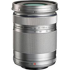 Olympus M. Zuiko 40-150mm f4.0-5.6 R Lens - Silver
