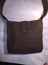 pre-loved authentic GIVENCHY vintage brushed cotton SHOULDERBAG purse NEAR MINT