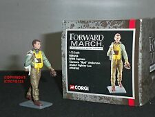 CORGI US59105 FORWARD MARCH US AIRFORCE CAPTAIN CLARENCE BUD ANDERSON WW2 PILOT