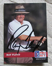RARE RAY FLOYD AUTO SIGNED TRADING CARD PGA TOUR GOLFER BLOWOUT SALE
