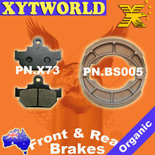 FRONT REAR Brake Pads Shoes for Suzuki TU 250 Volty NJ47A 1992-2000