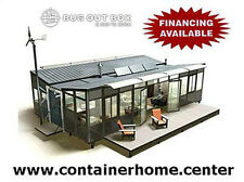 Off-Grid Atomic Container Home -in conjunction with DIY OFF THE GRID, read more!