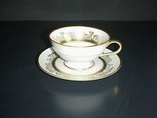 Hutschenreuther Cup & Saucer Set Bavaria Germany Gold Trim #9032