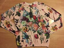 Ted Baker Nude Oil Painting Print JUMPER SWEATER BNWT SIZE 4 Uk 14