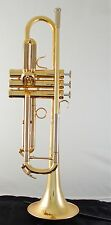 Brand New Adams Austin Custom  Brass Professional series Trumpet in gold lacquer