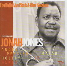 JONAH JONES  CD CONFESSIN  BLACK AND BLUE SESSIONS