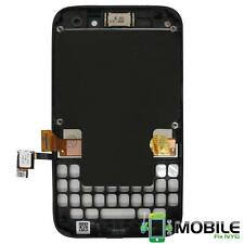 LCD Touch Display Screen Digitizer Assembly Housing Frame fo Blackberry Q5 White