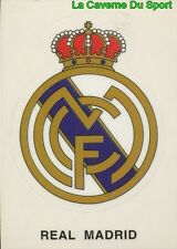 181 ESCUDO BADGE LOGO ESPANA REAL MADRID STICKER CROMO LIGA 1995 PANINI