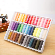 39pcs/lots Assorted Colours Hand Machine Polyester Sewing Thread Spool Set