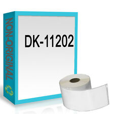 1 ROLL FOR DK11202 DK 11202 BROTHER COMPATIBLE ADDRESS LABELS 62mm x 100mm