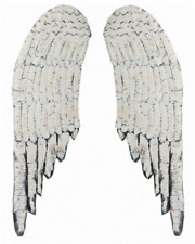 LARGE DISTRESSED PAIR OF ANGEL WINGS Shabby FRENCH Chic WOODEN Wall DECOR Wood