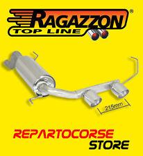 RAGAZZON TERMINALI SCARICO CENTRALI 2 / 90mm ALFA MITO 1.3 JTDm 90cv DAL 09/08