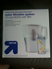 up & up Water Filtration Pitcher - White - 10 Cup Capacity