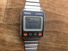 Vintage SEIKO UC-2000 Data Watch