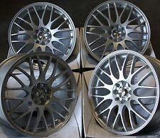 "17"" SILVER MOTION ALLOY WHEELS FITS BMW MINI R50 R52 R55 R56 R57 R58 R59"