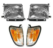 1998 - 2000 TOYOTA TACOMA 4WD W/PRE HEADLIGHT & CORNER LAMP LIGHT RIGHT & LEFT