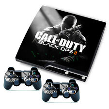 Black Cool Man Sticker for PlayStation 3 Slim PS3 Console + Controller Skins