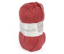 50g AMANDE CHEVAL BLANC Baumwolle Kaschmir Cotton Cashmere Babywolle Wolle 150