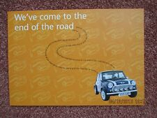 Rover Mini Cooper Sport 500 Limited Edition 2000  Leaflet Brochure
