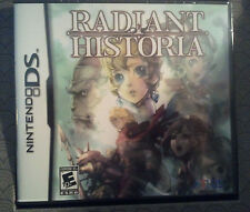 Radiant Historia  (Nintendo DS, 2011) ds/3ds new factory sealed