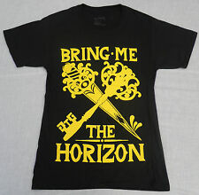 BRING ME THE HORIZON UK TOUR 2013 GENUINE/OFFICAL HANES T-SHIRT S PIT TO PIT 18""