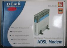D-LINK DSL-360I/DE High Speed ADSL Modem U-R2 Performance Kabelmodem Major ISP