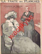 L'assiette au beurre 117 27/06/1903 traite de planches Lempereur Théâtre Actrice