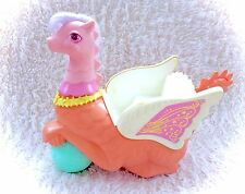 Vintage 1987 Moondreamers Galaxia Pink Dragon Wagon Cart Carriage Moon Dreamers