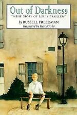 Out of Darkness : The Story of Louis Braille by Russell Freedman (1999,...