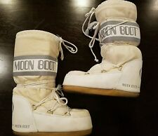 Technica Original Classic MOON BOOTS  Size 35/38 US 6/7 Ski Snow Stylish White