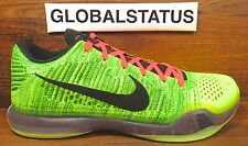 NIKE ID KOBE X 10 ELITE LOW GRINCH COAL HEARTED QS CUSTOM SHOES 802817 901 SZ 13