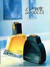 PUBLICITE ADVERTISING 034   1992   GUCCI  parfum  l'ARTE 2