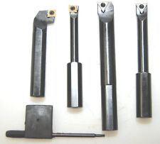 Set of 4 Glanze Axial & Radial Boring Bars for Milling 1/2 Shank FROM CHRONOS