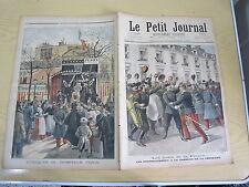 Le petit journal 1897 n° 367 préobrajensky russie Dompteur pezon mort