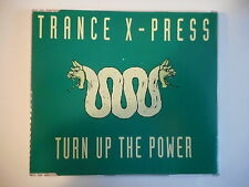 TRANCE X PRESS : TURN UP THE POWER (REMIX) [ FRENCH CD-MAXI PORT GRATUIT ]
