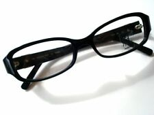 FENDI F744 EYEGLASSES F 744 F744 BLACK OPTICAL FRAME AUTHENTIC