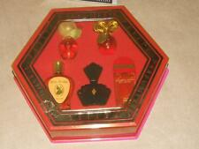 Elizabeth Arden Petite Parfumerie 5 Perfume Miniature Set Boxed Red Door +Unused