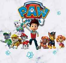 Paw Patrol Vinyl Wall Sticker Children Kids Room Decal  Removable Decor Mural