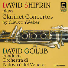 David Shifrin - Weber Clarinet Concertos [New CD]