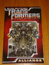 TRANSFORMERS REVENGE OF THE FALLEN ALLIANCE IDW GRAPHIC NOVEL 9781600104565