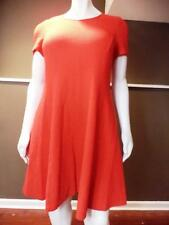 ELOQUII Dress Red Short sleeve skater Dress textured Plus Size 18 Classic NWT