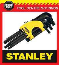 STANLEY 9pce LONG ARM BALL POINT HEX / ALLEN KEY SET – METRIC