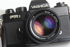 YASHICA FR1 WITH YASHICA ML 50MM F1.4 LENS WORKING