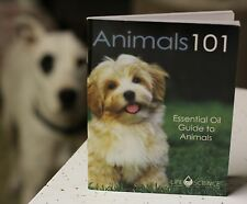 Young Living MINI BOOK Essential Oils ANIMALS 101 quick reference small guide