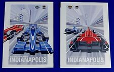 2014 Grand Prix Indianapolis & Indy 500 Program Ryan Hunter-Reay Starting Line