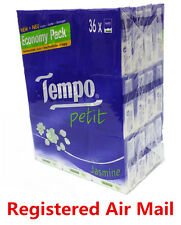36 packs Jasmine Tempo Petit Pocket Tissues Paper 4 ply cleaning handkerchiefs