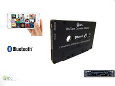 Bluetooth CASSETTA ADATTATORE PER IPAD IPHONE IPOD ANDROID SAMSUNG-Vivavoce IDC