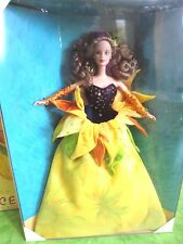 BARBIE SUNFLOWER VAN GOGH 1998 NRFB - NUOVA - model doll collection Mattel