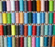 50 x New Assorted 100% Polyester Sewing Thread Spools High Quality
