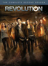 Revolution: The Complete Second Season (DVD, 2014, 5-Disc Set) NEW